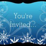 Frozen Invitation 150x150