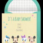 Disney Baby Shower Invitation sample 150x150