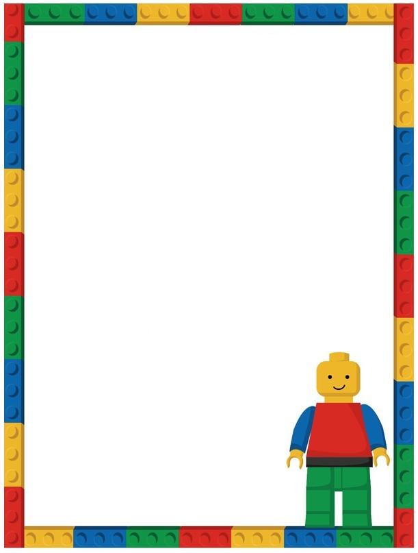 Free Lego Invitation Template Invitations Online