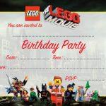 Lego Movie Birthday Invitation template 150x150