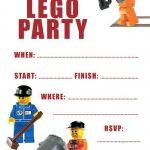 Lego Party Invitation Template 150x150