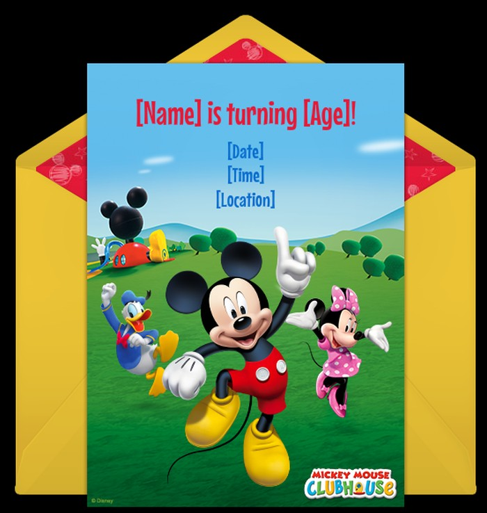 mickey mouse baby shower invitations, Baby shower invitations