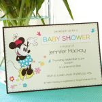 Minnie Mouse Baby Shower Invitations Sample 150x150