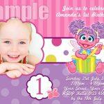 Sesame Street Birthday Invitation Sample 150x150