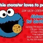 Sesame Street Invitation Sample 150x150