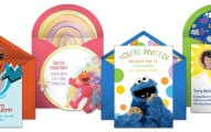 Sesame street invitation samples 191x120