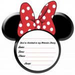 invitation for minnie mouse party template 150x150