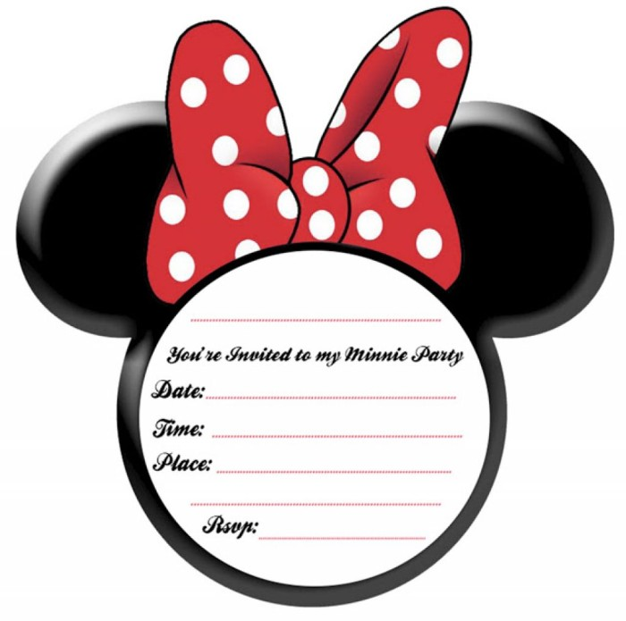 Free Printable Mickey Party Invitation – orderecigsjuice.info