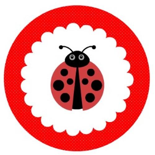 ladybug red logo for invitations