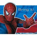 Bring it Spiderman invitation 150x150