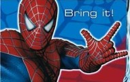 Bring it Spiderman invitation 191x120