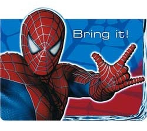 Bring it Spiderman invitation