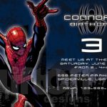 Cool Spiderman Birthday Invitation sample 150x150