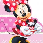 Cute Minnie Mouse Logo 150x150
