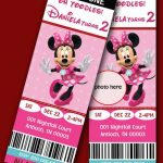 Etsy Minnie Mouse Birthday Invitations sample 150x150