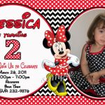 Etsy Personalized Minnie Mouse Birthday Invitations 150x150
