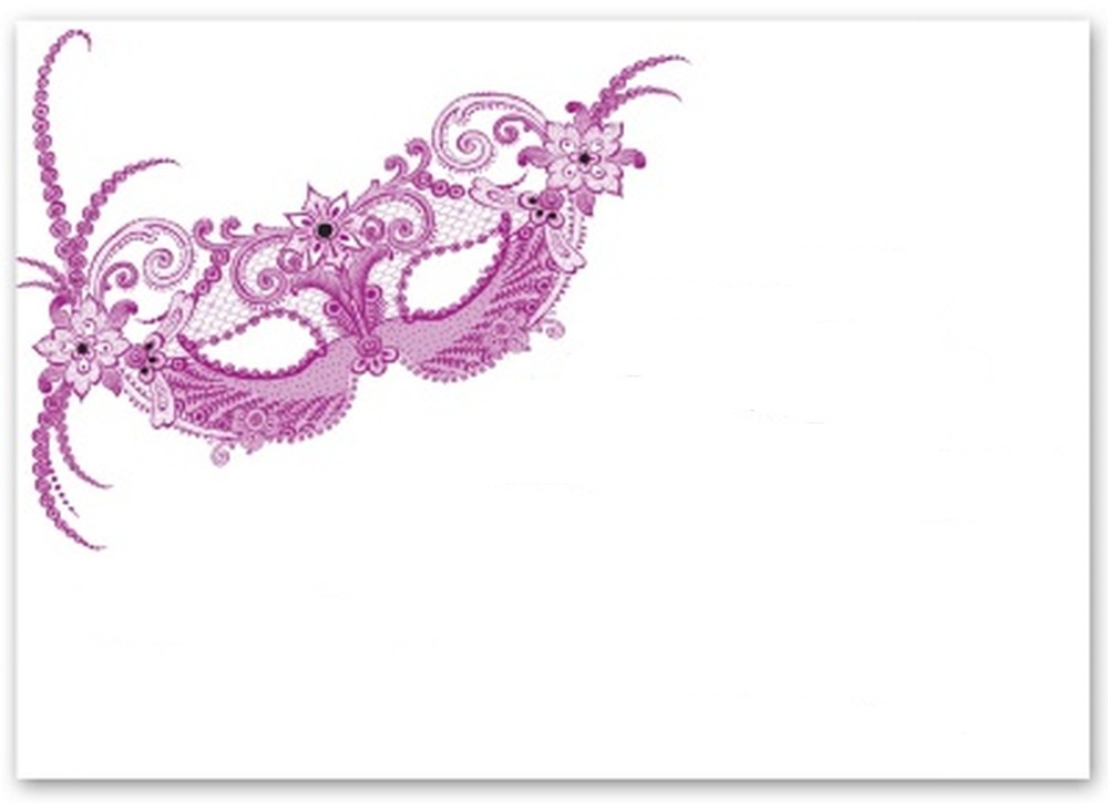 Free masquerade party invitation template printable invitations online for Maquerade invitations
