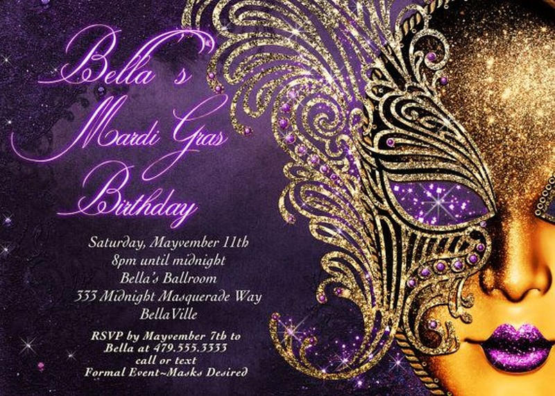 how to design masquerade party invitations, Party invitations