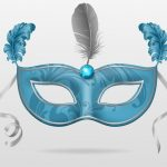 Masquerade Party Invitations free printable template 150x150