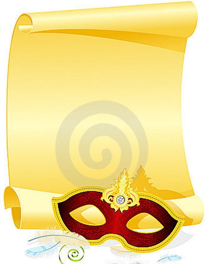 Masquerade Party Invitations template