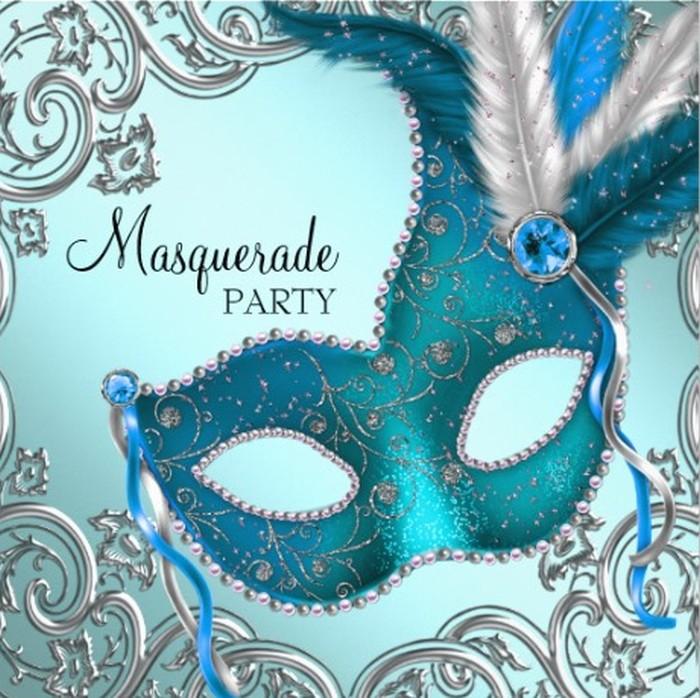 how to design masquerade party invitations
