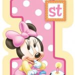 Minnie Mouse 1st Birthday Invitation Sample 150x150