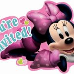 Minnie Mouse Youre invited logo for diy invitations 150x150