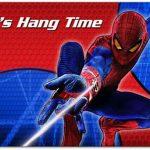 Spiderman Hang Time Invitation 150x150
