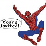 Spiderman Party Invitation free 150x150