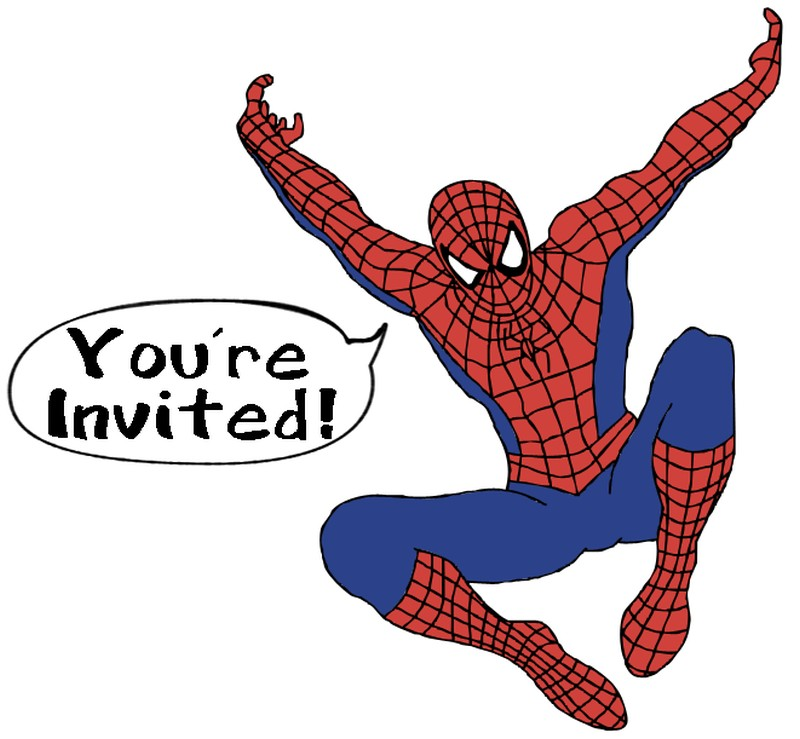 Spiderman Party Invitation Free – orderecigsjuice.info