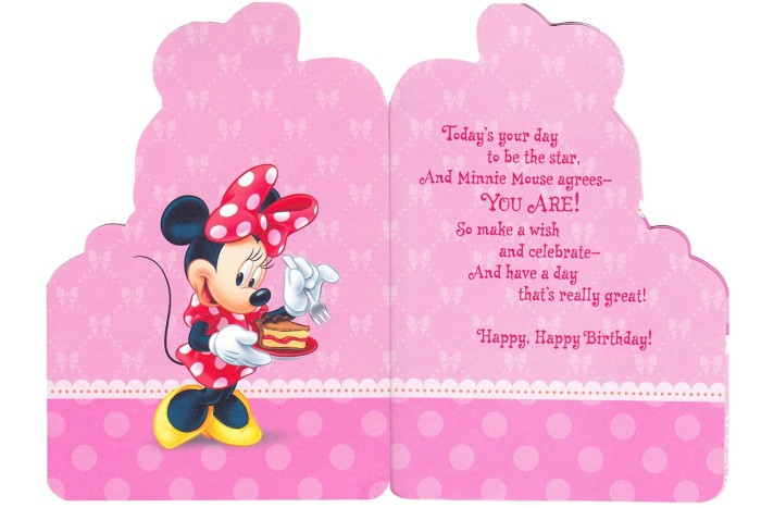 minnie mouse birthday invitations sample
