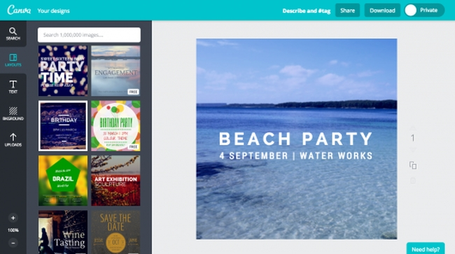 How to create going away party invitations with canva invitation make a going away invitations with canva invitation maker stopboris Gallery