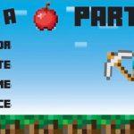 Minecraft invitation template 150x150