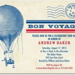 going away party invitation sample 150x150