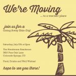 we are moving going away invitation 150x150