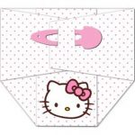 Hello Kitty diaper baby shower invitation 150x150