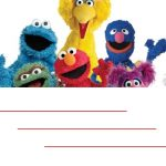 Sesame street birthday invitation free template 2 150x150