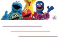 Sesame street birthday invitation free template 2 191x120