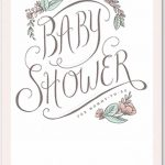 baby shower invitation for girls 150x150