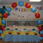 sesame street birthday decoration 150x150