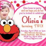 sesame street birthday invitation sample 150x150