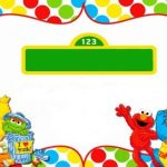 sesame street party invitations free template 150x150