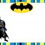 Batman Invitation template 150x150