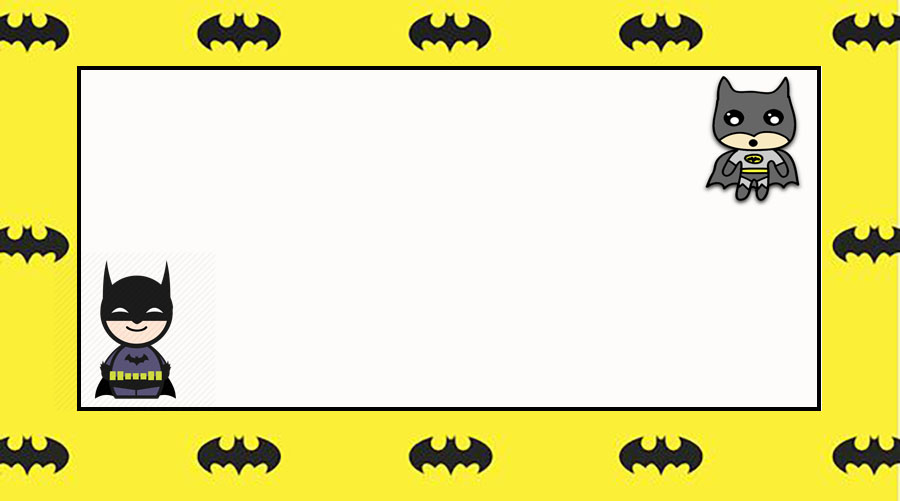 Batman Free Printable Invitation Templates