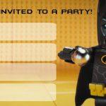 Batman birthday invitation 150x150