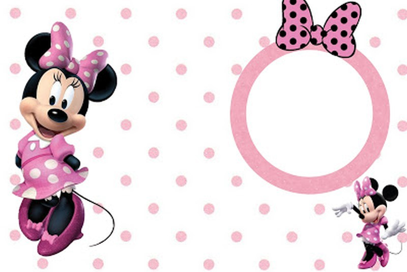 Minnie Mouse Free Printable Invitation Templates - Minnie mouse 1st birthday invitations templates