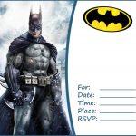 Free Batman Party Invitation Template 150x150