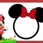 Free Minnie Mouse Invitation 150x150