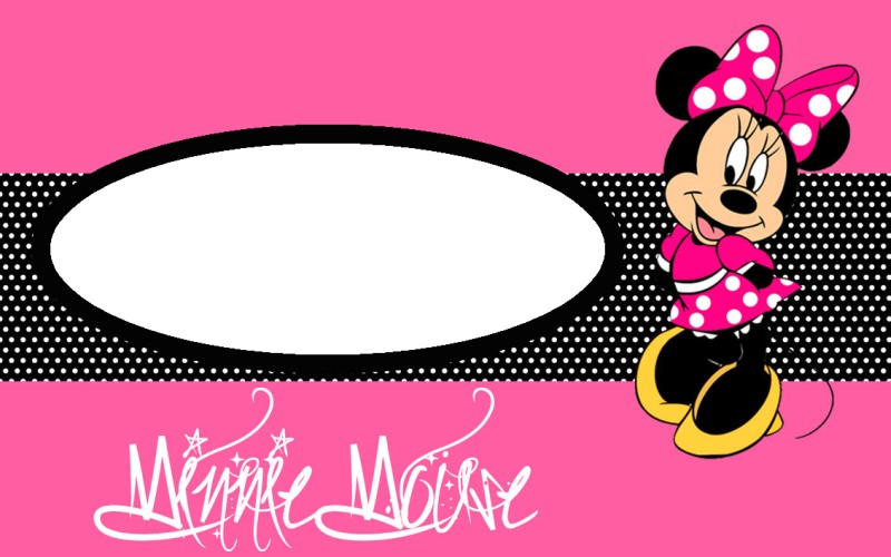 photo regarding Minnie Mouse Template Printable referred to as Minnie Mouse No cost Printable Invitation Templates