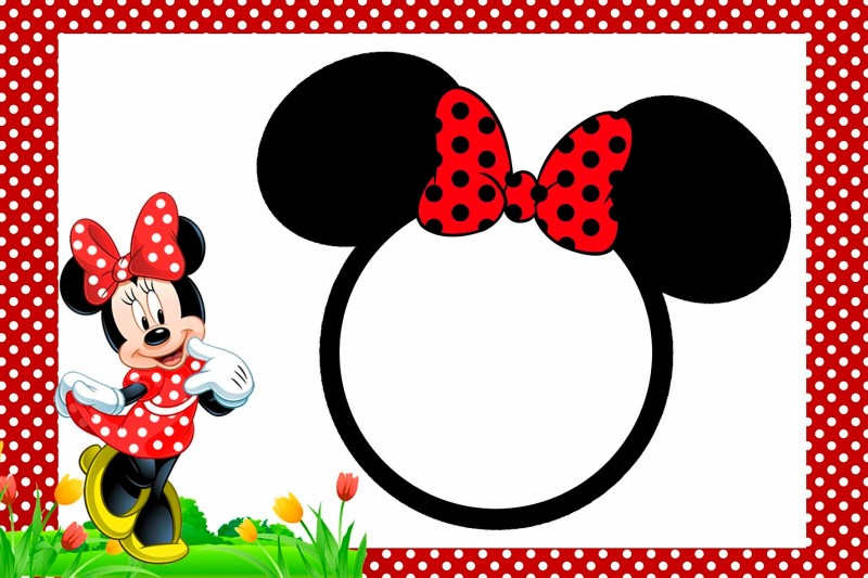 image relating to Free Printable Minnie Mouse Invitations referred to as Minnie Mouse Free of charge Printable Invitation Templates